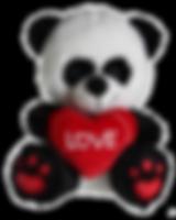 Valentine's Day Panda