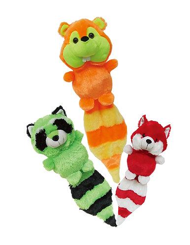 Long Tails Raccoon, Fox, & Chipmunk | Calplush
