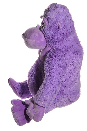 Tito 3 Color Pink, Purple, & Yellow Soft Plush Gorilla | Calplush