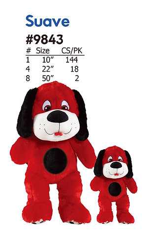 Gilbert Sitting Style Colorful Stuffed Dog | Calplush