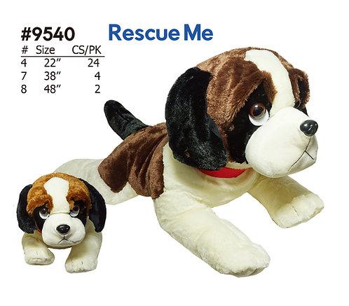 Rescue Me Saint Bernard Stuffed Animal | Calplush Wholesale Carnival