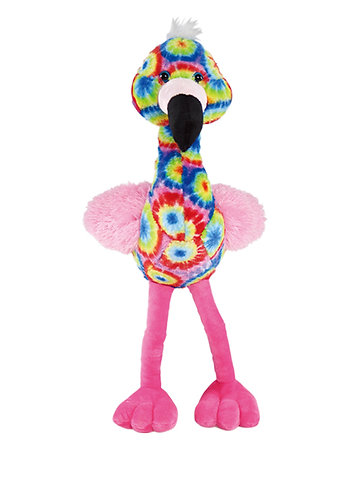 Hottie Multicolored Flamingo Plush | Calplush