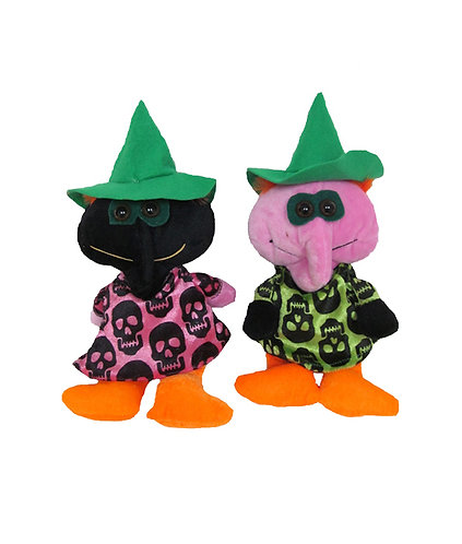 Halloween Beings w/ Skeleton Design | Wholesale Halloween Plush | Calplush