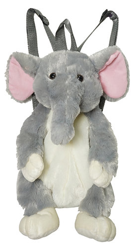 "16"" Super Soft and Fun Elephant Backpack"
