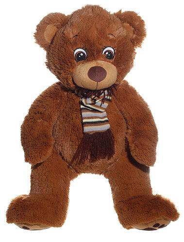 Fuzzy Bear with Scarf | Calplush