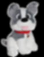 Carnival Plush Dog