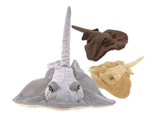 Sting Ray 3 Color Assorted Sealife | Calplush