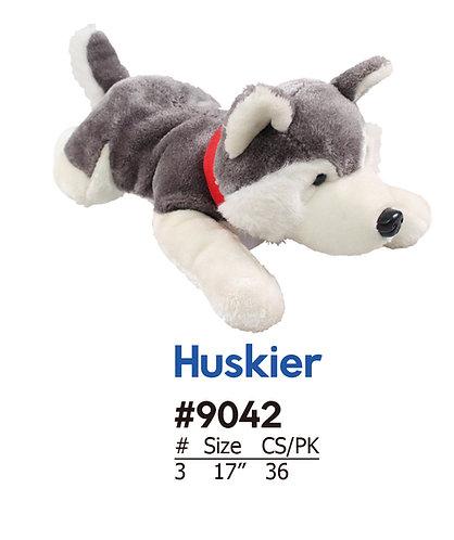 Huskier Husky Dog Stuffed Animal Crane & Carnival | Calplush