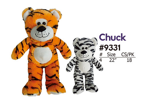 Chuck 2 Color Tigers | Amusement & Carnival | Calplush