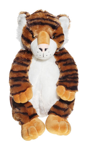 "16"" Super Soft and Fun Tiger Backpack"