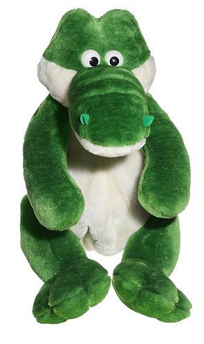 "16"" Super Soft and Fun Alligator Backpack"