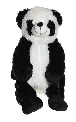 "16"" Super Soft and Fun Panda Backpack"