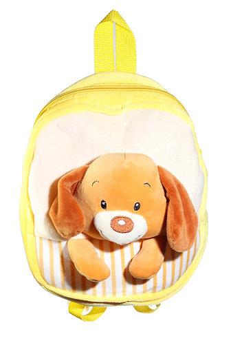 "10"" 1 Piece Animal Backpacks Dog, Hippo, Elephant, Duck, Cow | Calplush"