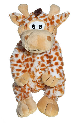 "16"" Super Soft and Fun Giraffe Backpack"