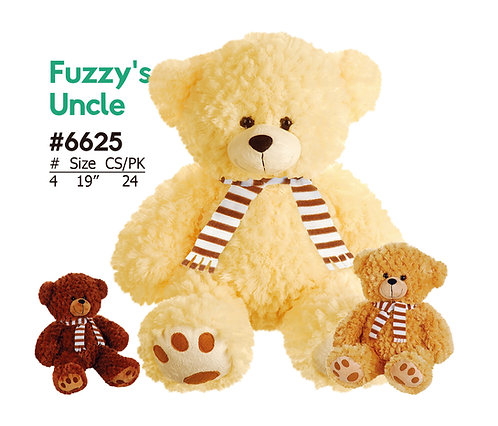 Classic Wholesale Plush Teddy Bear w/ Scarf