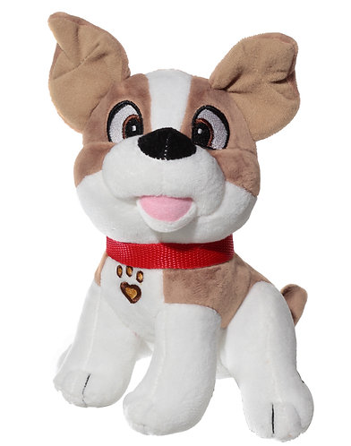 Barky & Snarky Soft Plush Stuffed Animal Dogs - 3 Colors Assorted