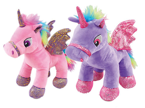 Clystar Wholesale Unicorn Plush in Bulk