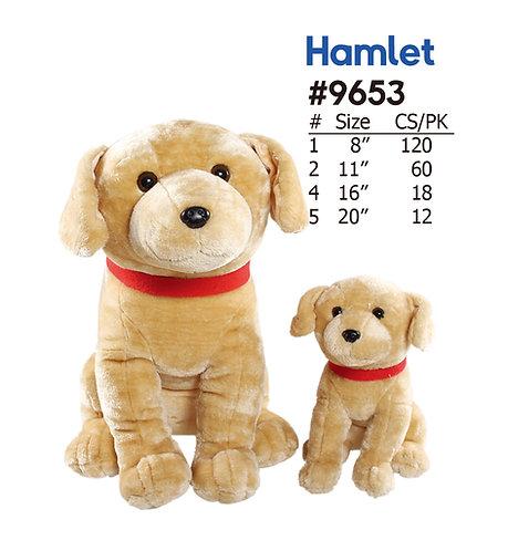 Hamlet Plush Dog Crane & Carnival | Calplush