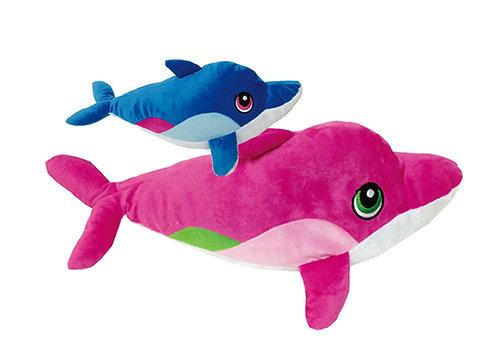 I Love Fiji Pink & Blue Whales | Calplush