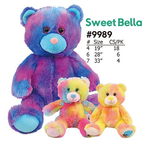 Sweet Bella Multicolored Stuffed Teddy Bears | Calplush