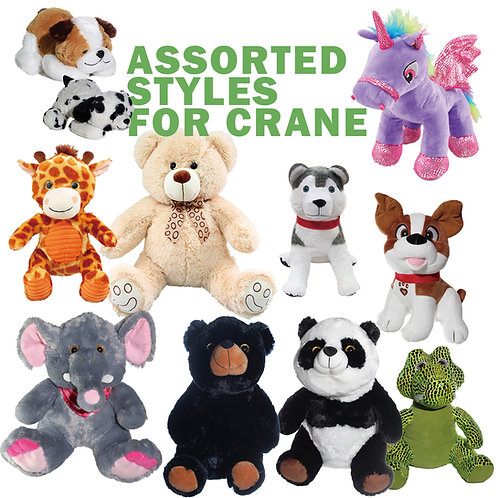 Assorted Styles for Crane - Different Sizes 1/2 Case