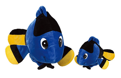 Blue Hawaii Cute Fish Soft Plush | Calplush