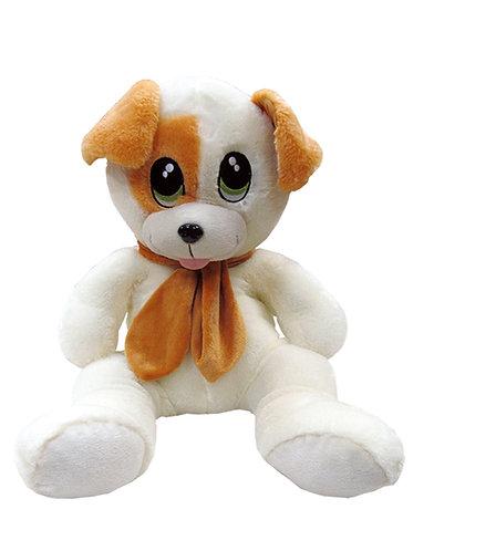 Scarf 'n Snarf Sitting Dog with Scarf | Calplush