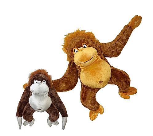 Clyde Orangutan 2 Color Plush | Calplush
