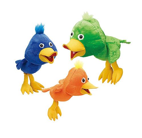 Beaker 3 Color Birds | Calplush Crane & Carnival