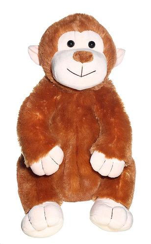 """16"""" Super Soft and Fun Monkey Backpack"""