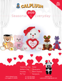 Calplush 2020 Seasonal & Everyday Plush Catalog