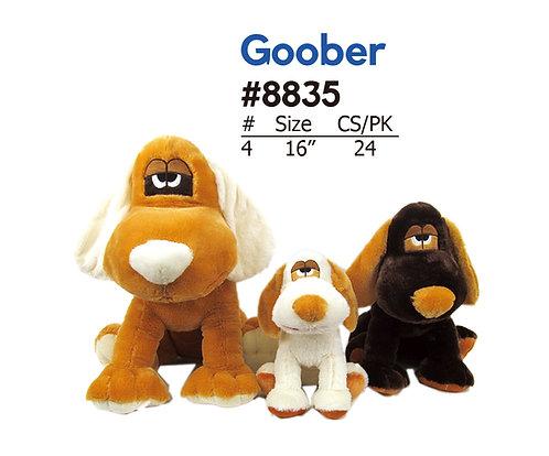 Goober Silly Stuffed Dog for Carnival & Crane | Calplush