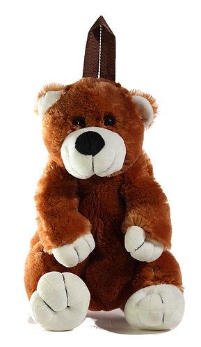 "16"" Super Soft and Fun Bear Backpack"
