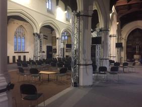 St.Austell Church installation