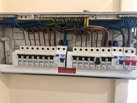 Consumer units installation