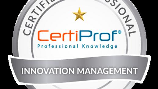 Examen de certificación Innovation Management Avalado por CertiPro