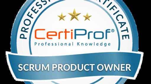 Examen de certificación  Scrum Product Owner Avalado por CertiProf