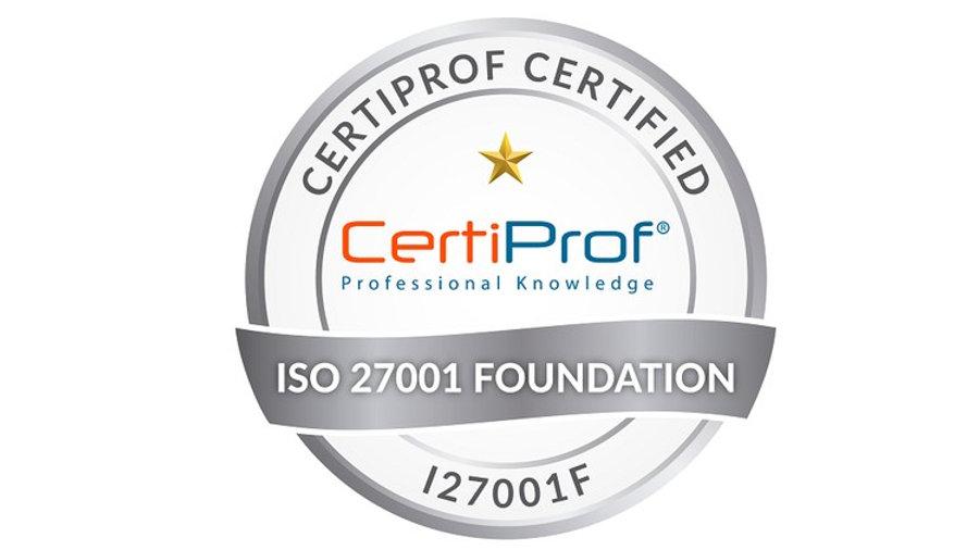 Examen de certificación ISO 27001 Fundamentos Avalado por CertiProf