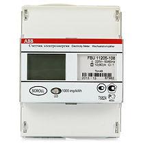 Счетчик электроэнергии однофазный однотарифный 1кл 5(65)А СЭ1-65/5 Т1 D ЖК B21 112-200 RS485 (2CMA100794R1000)  - Электроматериалы в Саратове