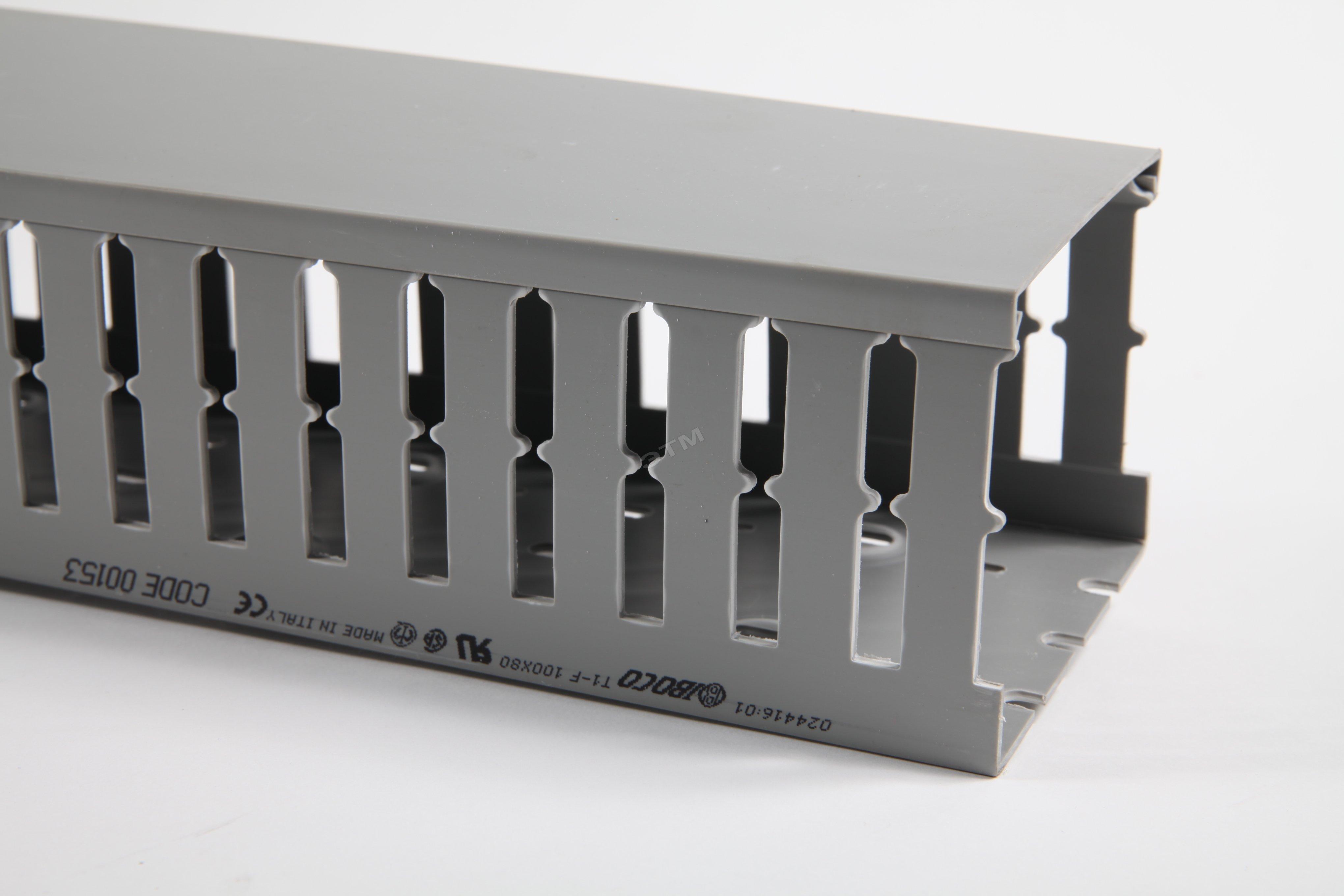 Короб перфорированный, серый T1-E 40