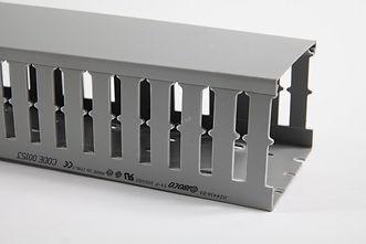 Короб перфорированный, серый T1-E 40x60