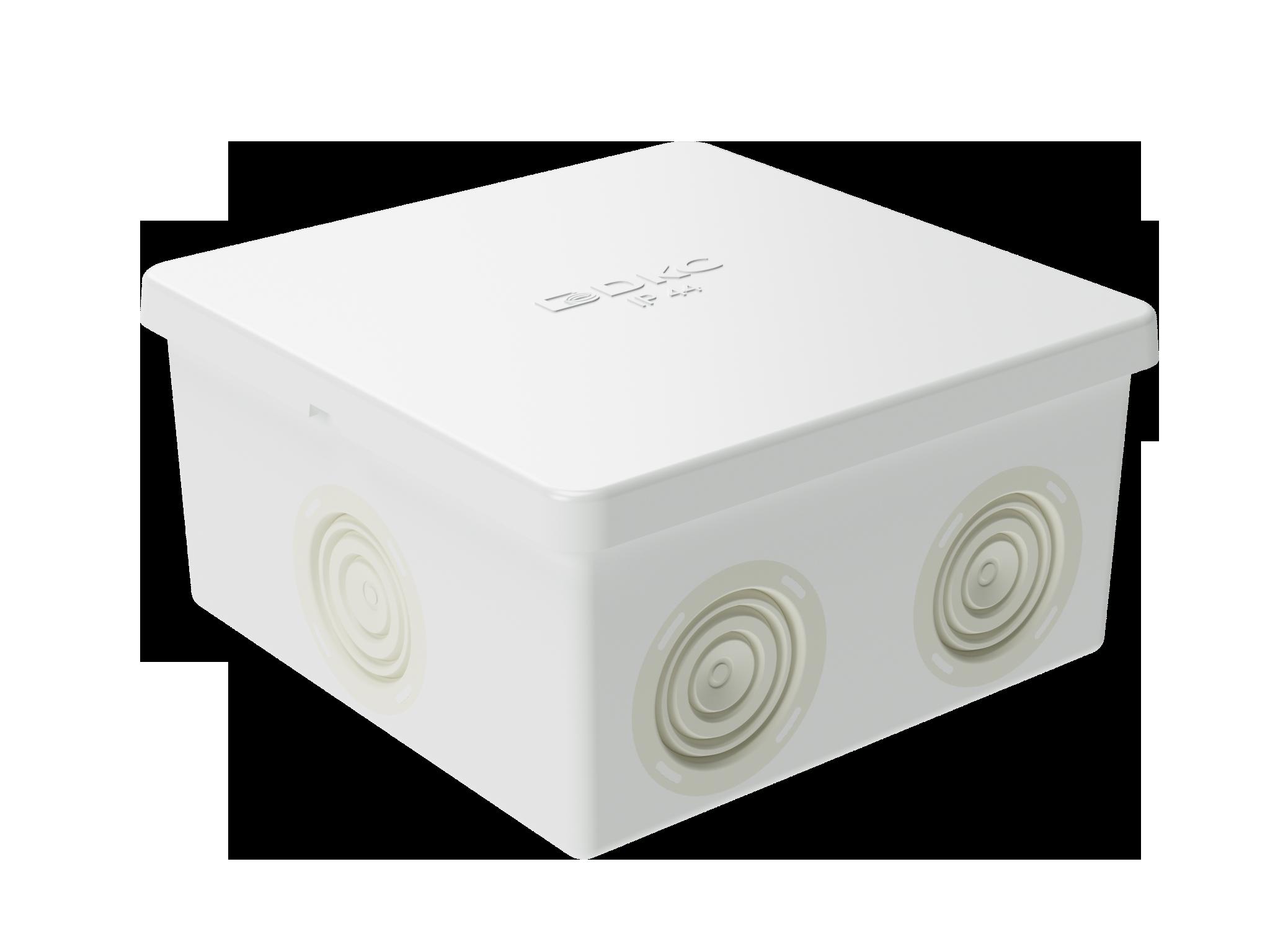 Коробка распределительная 80х80х40мм