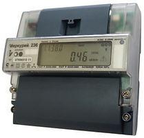 Счетчик электроэнергии трехфазный многотарифный Меркурий 236 ART-02 PQRS 100/5А кл1/2 RS485 оптопорт230/400В (236ART02PQRS)  - Электроматериалы Саратов