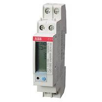 Счетчик электроэнергии однофазный однотарифный С11 110-300 5/40 Т1 D 220В кл1 EQ-meters ЖКИ (2CMA170550R1000) - Электроматериалы в Саратове
