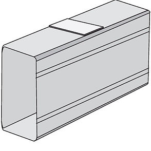 Накладка SGAN 60 на стык профиля (00833)