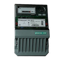Счетчик электроэнергии трехфазный однотарифный Меркурий 230 AM-01 60/5 Т1 Щ кл1 230/400В ОУ (230AM01)-Электроматериалы Саратов