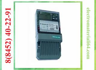 Счетчик электроэнергии трехфазный многотарифный Меркурий 230 ART-02 PQRSIN 100/10А Т4 кл1/2 230/400В