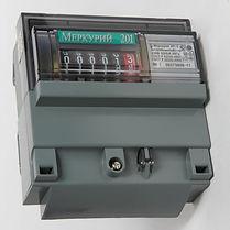 Электроматериалы - Счетчик электроэнергии однофазный однотарифный Меркурий 201.5 60/5 Т1 D 230В ОУ (201.5)