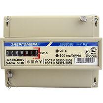 Счетчик электроэнергии трехфазный однотарифный ЦЭ6803В Тр/5 Т1 D кл1 М7 Р31 230/400В ОУ  - Электроматериалы в Саратове Код товара: 4403