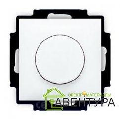 BASIC 55 Диммер 400 Вт поворотно-нажимной в рамку белый (6515-0-0842)